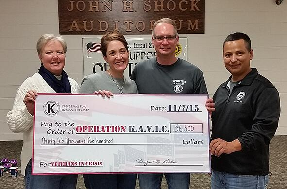 2015 Operation KAVIC | Donation