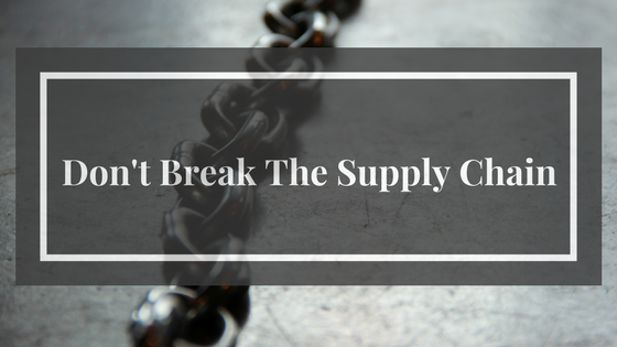 A bad choice in 3PL selection can cause a break in the supply chain