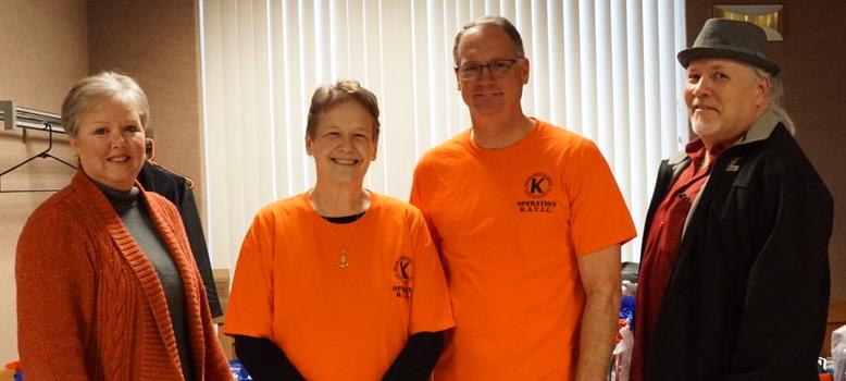 Katye, Tanya, Bryan, Ken at Operation Keller Assists Veterans In Crisis Event