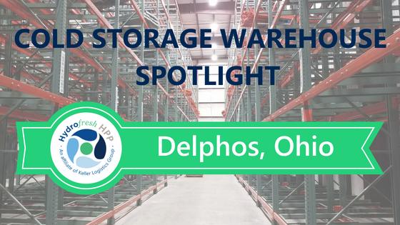 Delphos Ohio Cold Storage Warehouse Facility Interior Image
