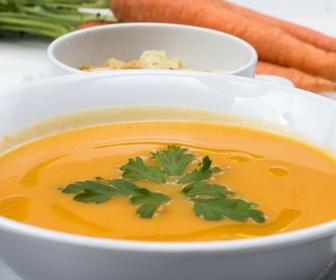 Bowl of soup, High Pressure Processing preserves the nutrients in food