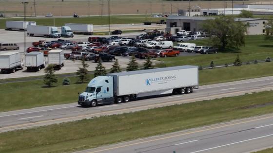 Keller Trucking | On The Road
