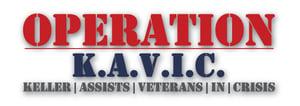 Operation K.A.V.I.C. (Keller Assists Veterans In Crisis) logo