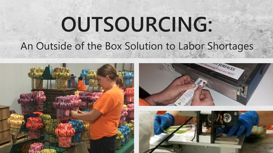Outsourcing_ An Outside of the Box Solution to Labor Shortages Blog Post Image - Workers doing assembly projects for customers