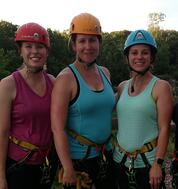 Company Culture | Team Rappelling Outside Of Work