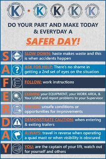 Keller Logistics Group | Safer Day