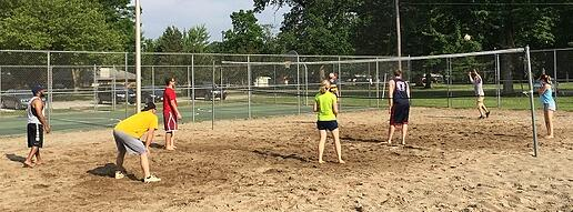 Company Culture Outside of Work | Volleyball Tournament