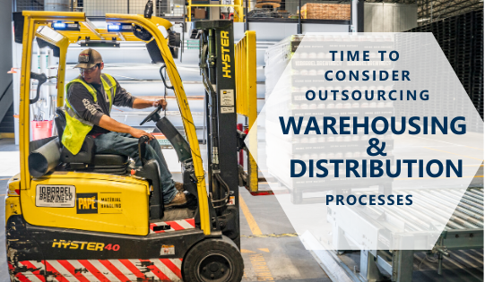 Time-to-consider-outsourcing-warehousing-&-distribution-processes-man-on-forklift-moving-pallet-of-cans