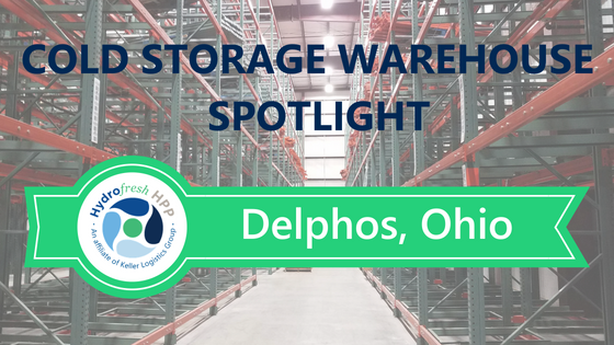 Delphos Ohio Cold Storage Warehouse Facility Interior Image