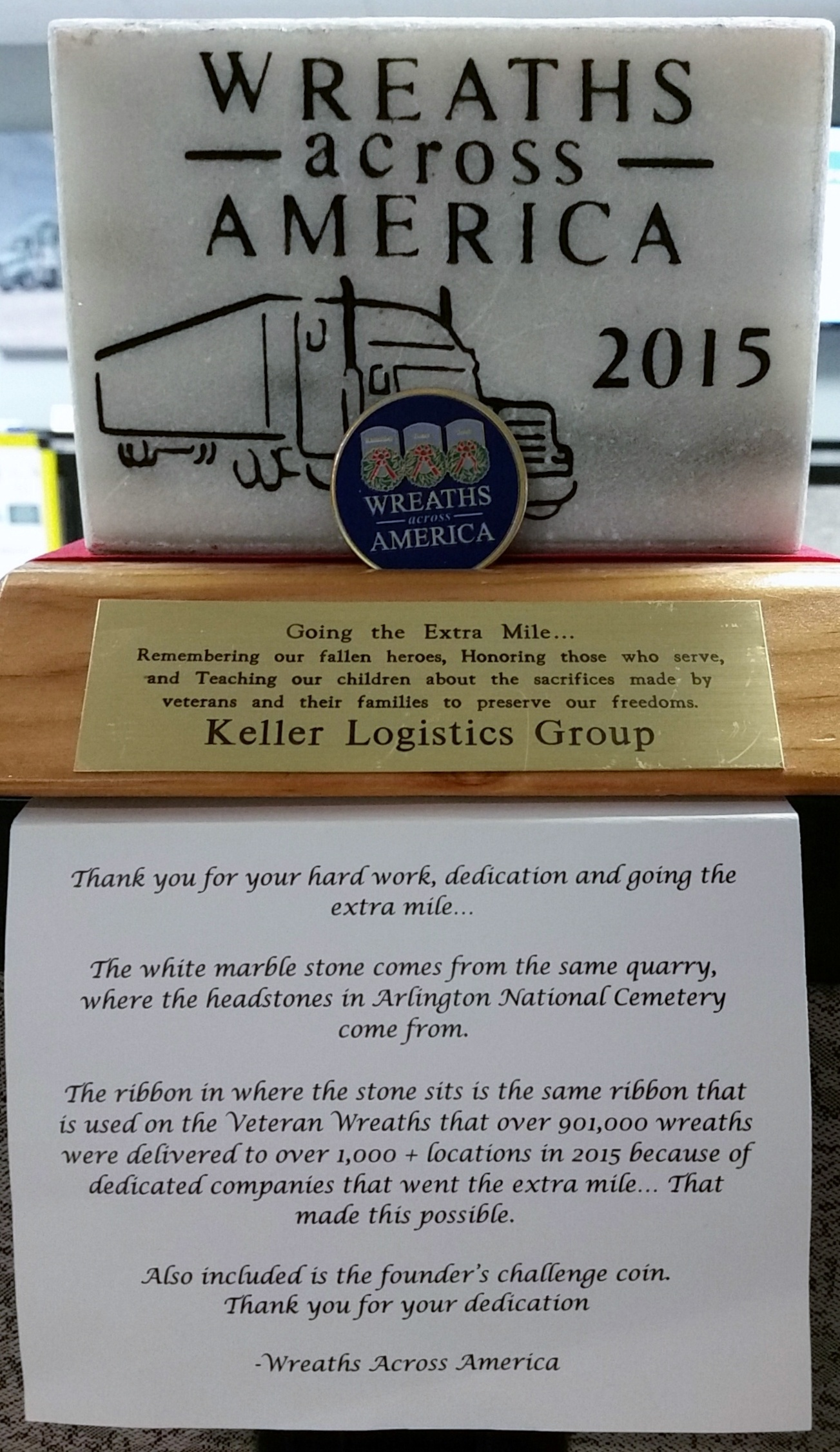 Award | Keller Logistics Group